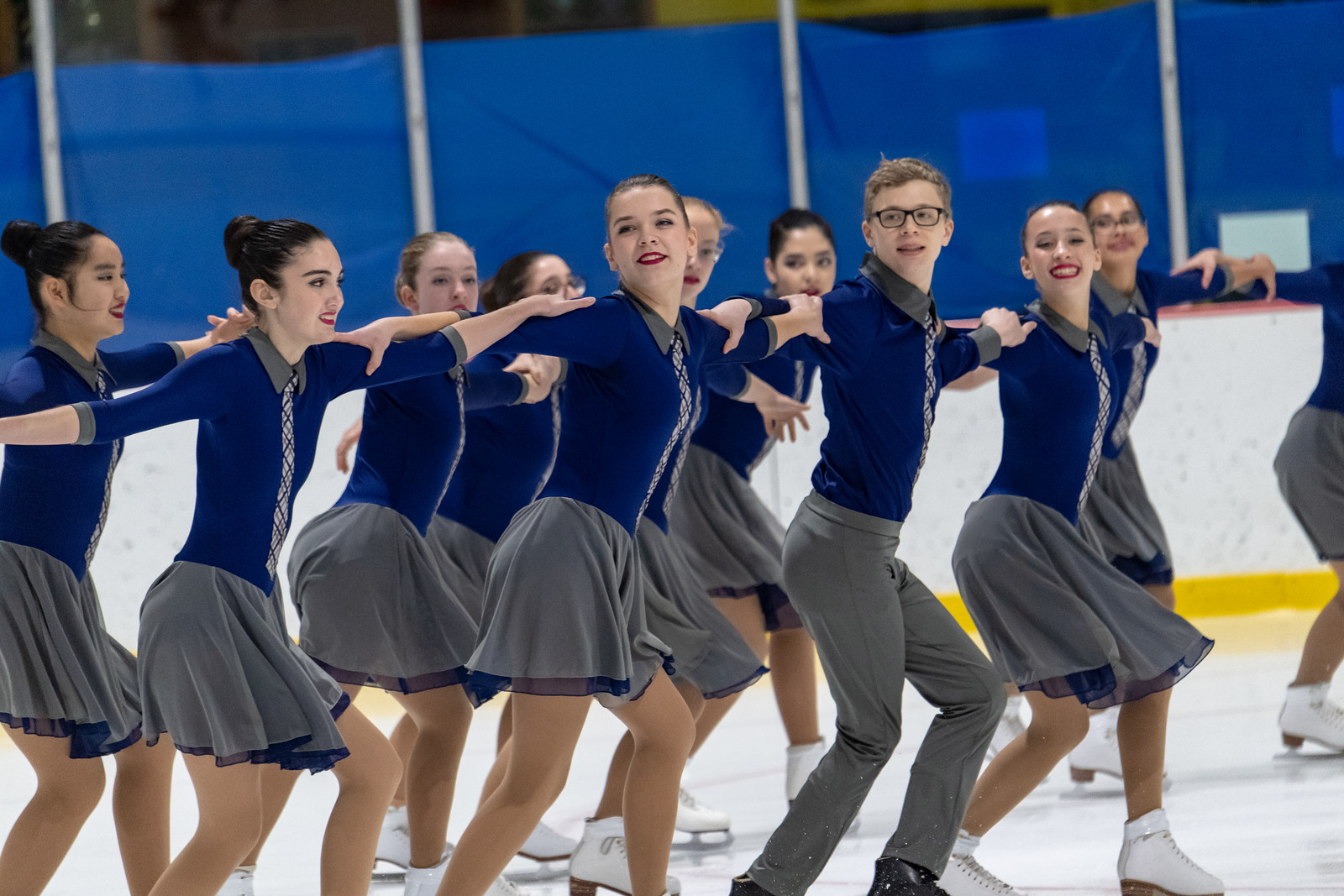 The 2018-19 Central Park Ice open juvenile line won bronze at the 2018 Terry Conners Synchro Open, placed sixth at the 2019 Colonial Classic, and placed seventh at the 2018 Essex Synchro Classic. The line won Eastern Sectionals in 2016.