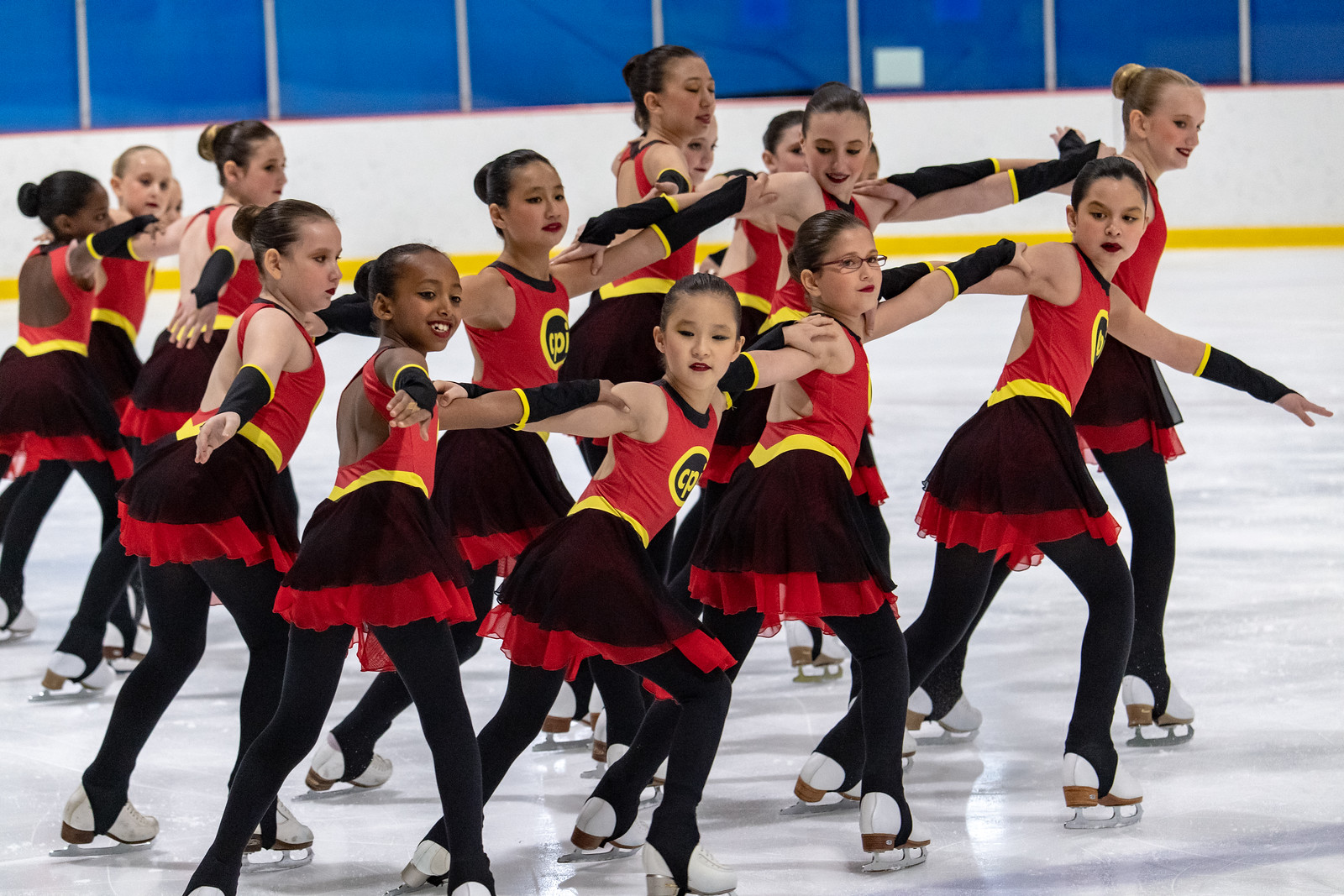 The 2018-19 Central Park Ice Preliminary Line won silver at the 2019 SCNY Synchro Invitational, and bronze at the 2018 Terry Conners Synchro Open and 2019 Colonial Classic.
